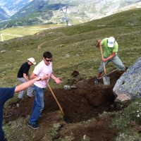The Riffelberg Boulder Removal Day